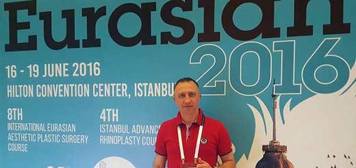 8-ой Евразийский курс по пластической эстетической хирургии и 4-й Стамбульский курс по ринопластике