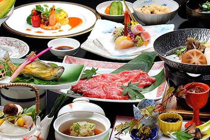 современная японская еда