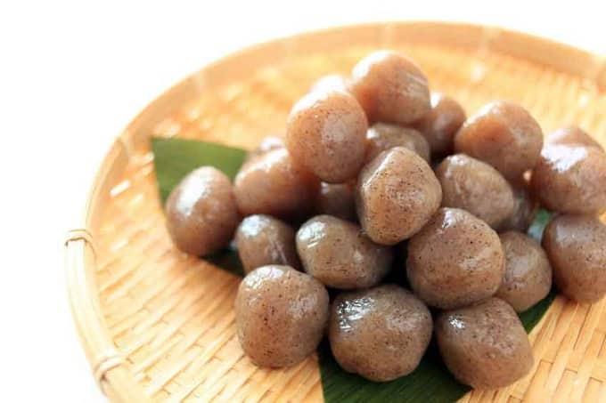 Конняку в японском рационе питания