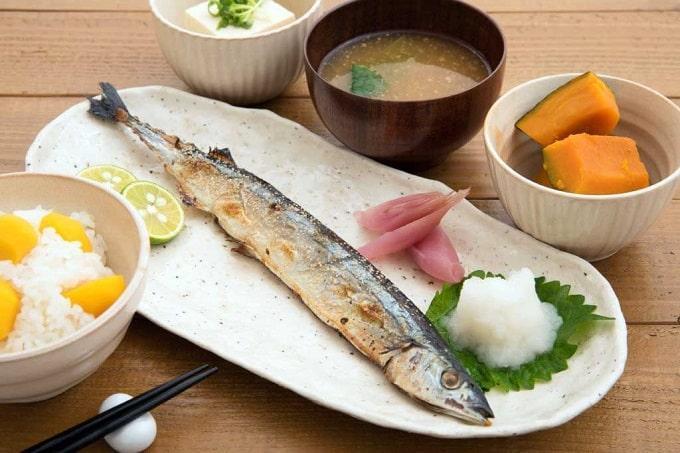 Японская диета очень разнообразна