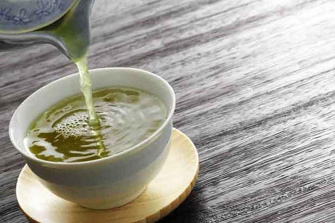 Японская повседневная диета и зеленый чай